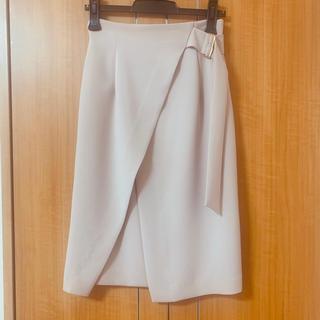 プラステ(PLST)のトーナル  タイトスカート 新品未使用 セットアップ対応 ピンク 人気商品(ひざ丈スカート)