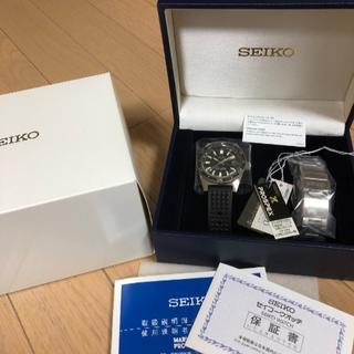セイコー(SEIKO)のSEIKO SBDX019 ヒストリカルコレクション ファーストダイバー復刻(腕時計(アナログ))