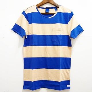 スコッチアンドソーダ(SCOTCH & SODA)のSCOTCH & SODA  スコッチ&ソーダ  太ボーダーTシャツ(Tシャツ/カットソー(半袖/袖なし))