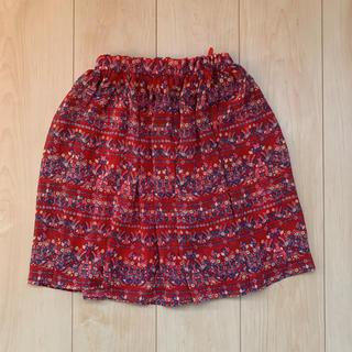 エムピーエス(MPS)の花柄スカート 120(スカート)