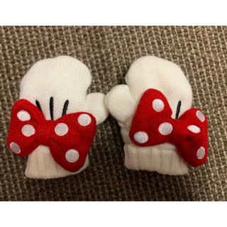 ディズニー(Disney)のベビー用★ミニーちゃん手袋(手袋)