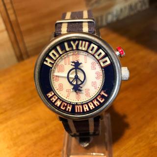 ハリウッドランチマーケット(HOLLYWOOD RANCH MARKET)のレア品 ハリウッドランチマーケット ネオンウォッチ(腕時計(アナログ))