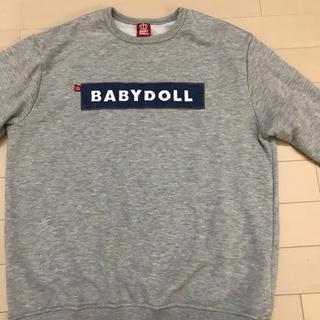 ベビードール(BABYDOLL)のbaby doll  スエット(トレーナー/スウェット)