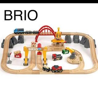 ブリオ(BRIO)のBRIO カーゴレールデラックスセット(電車のおもちゃ/車)