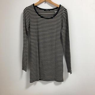オゾック(OZOC)のOZOC ボーダー ロンT(Tシャツ(長袖/七分))