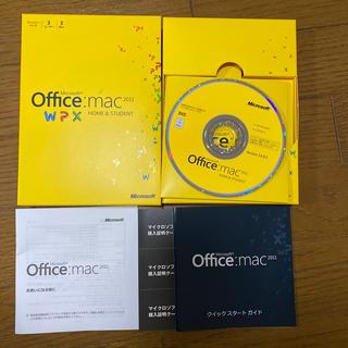 マイクロソフト(Microsoft)のOffice mac 2011(その他)