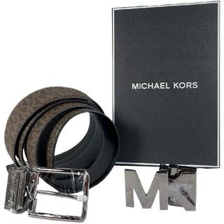 Michael Kors - 【新品タグ付き】マイケルコース ギフトセットベルト メンズF MK柄