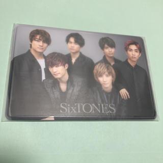 ジャニーズ(Johnny's)の【新品】SixTONES 会員証ケース(アイドルグッズ)