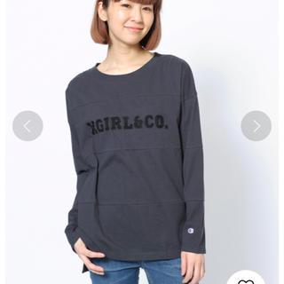 X-girl - チャンピオン コラボ 長袖Tシャツ