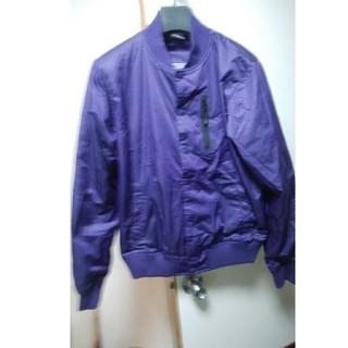 ナイキ(NIKE)の希少 国内 正規品 NIKE VARSITY JACKET L 濃紫 BOMBR(スタジャン)