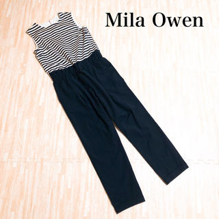 Mila Owen - Mila Owen ミラオーウェン オールインワン ボーダー モデル美香着用♡