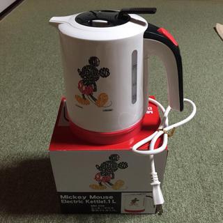 ディズニー(Disney)のミッキー 電気ケトル♪ 1.1L(調理機器)