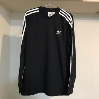 アディダス(adidas)のアディダス adidas 3ストライプス 長袖Tシャツ  Tシャツ DV1560(Tシャツ/カットソー(七分/長袖))