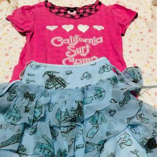Barbie - バービー ワンピース、スカート 2点セット140cm(37)