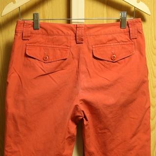 ラルフローレン(Ralph Lauren)のラルフ ラルフローレン ジーンズ ボタンフライ パンツ カーゴパンツ オレンジ(ワークパンツ/カーゴパンツ)