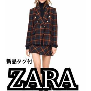 ザラ(ZARA)のZARA タグ付 ジャケットスカート(スーツ)