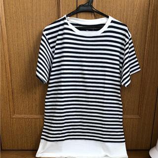 ユニフォームエクスペリメント(uniform experiment)のUNIFORM EXPERIMEMT ボーダー Tシャツ(Tシャツ/カットソー(半袖/袖なし))