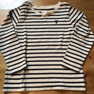 coen - coen 長袖ボーダーTシャツ 120