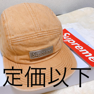 シュプリーム(Supreme)のsupreme metal camp cap シュプリーム キャンプ キャップ(キャップ)