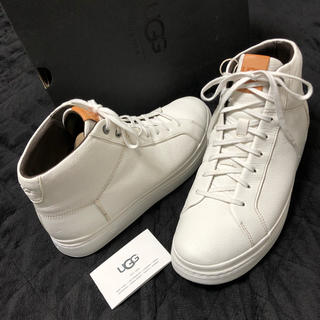 アグ(UGG)の【新品・正規品】UGG アグ ハイカットスニーカー ブーツ 超軽量 白 28cm(スニーカー)