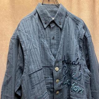 アートヴィンテージ(ART VINTAGE)の90s フェイクレイヤード シャツ 変形 vintage 古着(シャツ)
