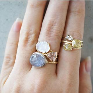 アッシュペーフランス(H.P.FRANCE)のMONAKA jewellery モナカジュエリー 18K モルガナイト リング(リング(指輪))