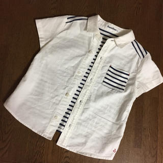 familiar - ファミリア  シャツ  100