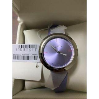 フルラ(Furla)の【値下げ!】【新品】 FURLA(フルラ) VALENTINA 腕時計 パープル(腕時計)