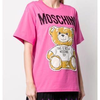 モスキーノ(MOSCHINO)のMOSCHINO テディベアTシャツ(Tシャツ(半袖/袖なし))