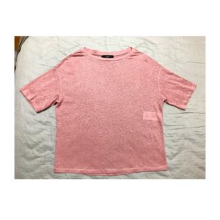マックスマーラ(Max Mara)の超美品! Max Mara Weekend リネン100% Tシャツ S(Tシャツ(半袖/袖なし))