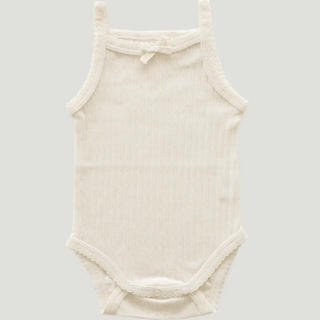 こども ビームス - Jamie Kay_Pointelle Singlet Bodysuit(2Y)