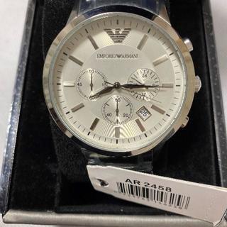 エンポリオアルマーニ(Emporio Armani)の【新品】 エンポリオアルマーニ 腕時計 AR2458 シルバー(腕時計(アナログ))