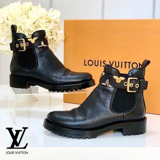 ルイヴィトン(LOUIS VUITTON)の1034 美品 ルイヴィトン サイドゴアブーツ(ブーツ)