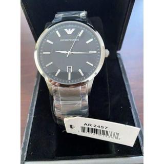 Emporio Armani - 【新品 】エンポリオアルマーニ 腕時計 AR2457 シルバー