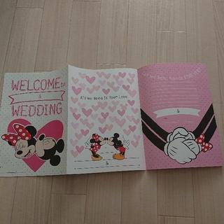 ディズニー(Disney)の【結婚式Item】ミッキー&ミニーウエルカムボード ウェディングツリー 付録(ウェルカムボード)
