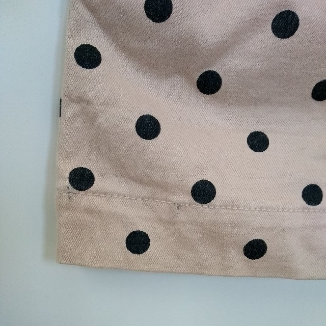 BREEZE(ブリーズ)のアプレレクール 水玉ワンピース ジャンパースカート キッズ/ベビー/マタニティのベビー服(~85cm)(ワンピース)の商品写真