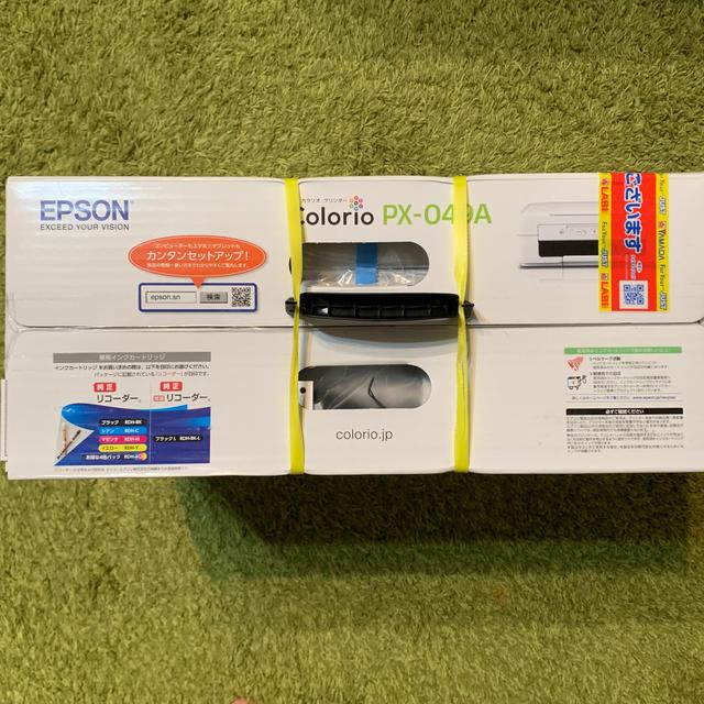 EPSON(エプソン)のEPSON  Colorio  PX-049A インテリア/住まい/日用品のオフィス用品(OA機器)の商品写真