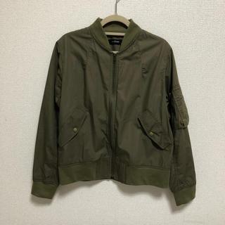 ダブルクローゼット(w closet)のw closet  ミリタリージャケット MA-1   ブルゾン アウター(ミリタリージャケット)