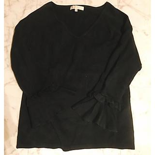 プロポーションボディドレッシング(PROPORTION BODY DRESSING)のフリルスリーブニット*(ニット/セーター)