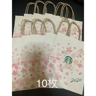 スターバックスコーヒー(Starbucks Coffee)のスタバ スターバックス 紙袋 桜 さくら(ショップ袋)