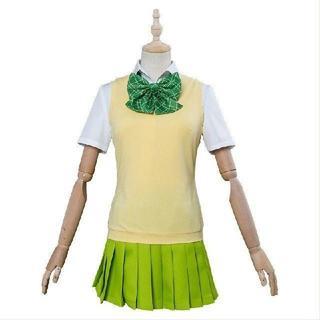 五等分の花嫁 中野四葉 コスプレ衣装(衣装一式)
