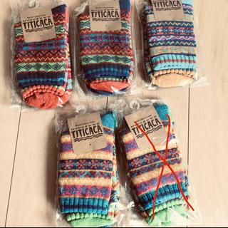 チチカカ(titicaca)の新品 チチカカ 靴下(ソックス)
