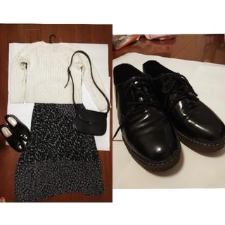 ベルシュカ(Bershka)のベルシュカ 厚底革靴(ローファー/革靴)