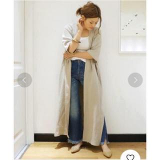 ドゥーズィエムクラス(DEUXIEME CLASSE)のDeuxieme Classe Caftan gown 新品タグ付き  (ガウンコート)