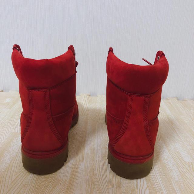 Timberland(ティンバーランド)のティンバーランド赤 メンズの靴/シューズ(ブーツ)の商品写真
