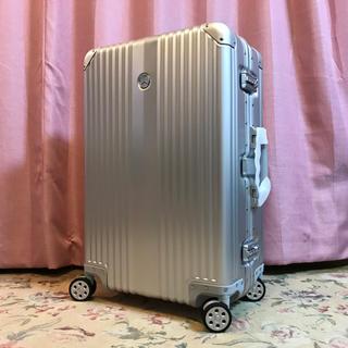 リモワ(RIMOWA)のメルセデスベンツ オリジナル アルミ スーツケース 新品未使用【非売品】(トラベルバッグ/スーツケース)