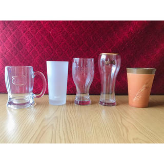 サントリー(サントリー)のサントリー ビアグラス 5点セット(グラス/カップ)