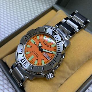セイコー(SEIKO)の超美品 SEIKO DIVER'S オレンジモンスター 200M(腕時計(アナログ))