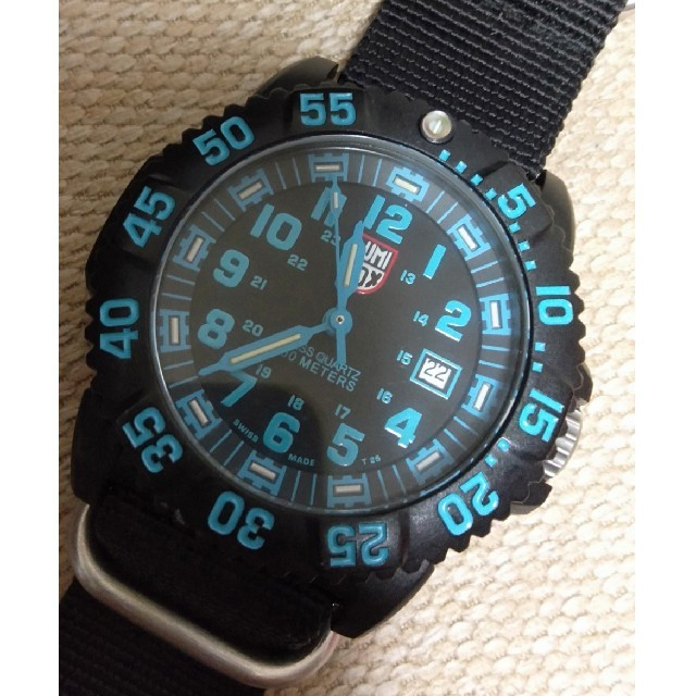 エンジェルハート 時計 激安 amazon 、 Luminox - ルミノックス ブルーの通販