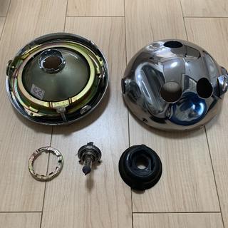 SR400 純正 ヘッドライト YHA-121 SAE M 72 KOITO(パーツ)